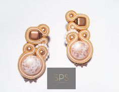 """Suzy Palhazy Soutache on Instagram: """"Pretty and cute at the same time? 🤔Yesss💫 The specialty of soutache jewellery... the reason why I love making them!  Csinos és cuki…"""" Soutache Earrings, Pretty And Cute, Suzy, Everyday Look, Jewellery, My Love, Unique, How To Make, Handmade"""