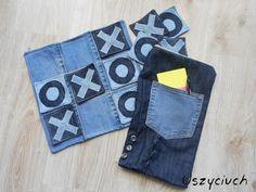 Uszyciuch.pl: Jeans do recyklingu - kółko i krzyżyk