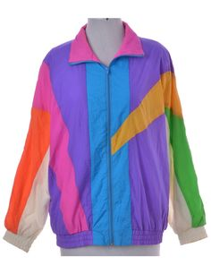 Casual Jacket Multi-colour With Pockets