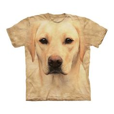 Yellow Lab Portrait Tee, 19€, now featured on Fab.