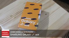 Unboxing & Giveaway Samsung Galaxy J1 Ace [INDONESIA]