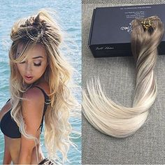 Full shine official shopping site clip in balayage human hair full shine official shopping site clip in balayage human hair extensions6b 613 full shine hair extension pinterest human hair extensions hair pmusecretfo Gallery