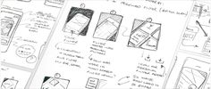 Lo-fi sketch wireframe examples