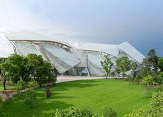 Frank Gehry's Fondation Louis Vuitton.