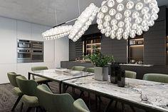 Prop Light Round by Bertjan Pot via Moooi | www.moooi.com | #interiordesign #interior #design #lighting #architecture #space #green #moooi #apartment #residence #dining