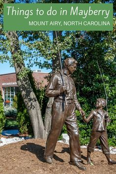 """From outdoor activities to wine tasting to taking in the sights of """"Mayberry,"""" there are so many fun things to do in Mount Airy, North Carolina"""