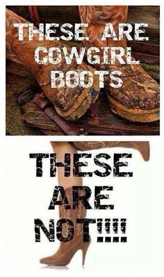 These are cowgirl boots