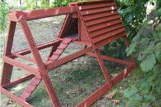 Construisez votre poulailler avec des palettes en bois
