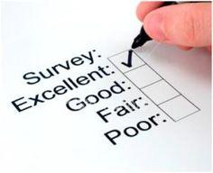 Survey tick box