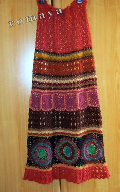 Crochet  skirt / dresshandmade lace unique by romayacrochet, $760.00