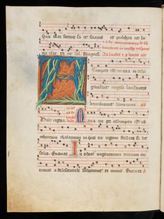 Fribourg/Freiburg, Couvent des Cordeliers/Franziskanerkloster, Ms. 6, f. 138v – Antiphonarium (http://www.e-codices.unifr.ch/en/list/one/fcc/0006)