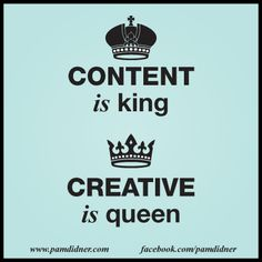 Content is king. #quotes #content