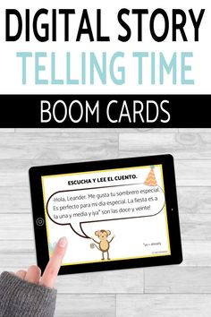 Have you tried BOOM Cards with your students? They're digital and self-checking, which means students get instant feedback, and you don't have to grade! They're self-grading! Your students can read, listen, and write to get practice! This set is perfect for your middle school and high school Spanish classes as they study telling time, el tiempo, or la hora! It's the perfect activity for homework, review, or even formative assessment! Click to see more and to try it out! Telling Time In Spanish, Middle School Spanish, Spanish Lesson Plans, Spanish 1, Formative Assessment, Comprehension Questions, Spanish Classroom, Class Activities, Languages