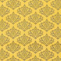 For the baby's room:) Amy Butler - Midwest Modern 1 and 2 - Park Fountains in Mustard  For my SWOON quilt!