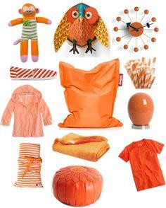 pretty in orange.