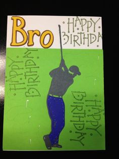 Bros Birthday Card