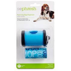 So Phresh Pick It Up Blue Dog Bag Dispenser with Refill * Read more reviews of the product by visiting the link on the image. (This is an affiliate link and I receive a commission for the sales)
