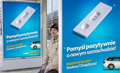 Gratka: Outdoor campaign proposal - Jamel Interactive interactive agency Gdansk, Tricity