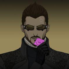 Deus Ex Human, Deus Ex Mankind Divided, Geek Art, Cyberpunk, Oc, Gaming, Husband, Play, Comics