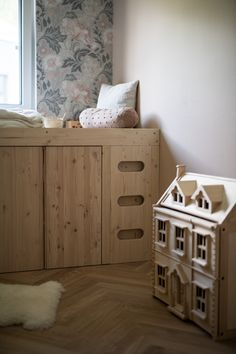 DIY | Ein Bett aus Ivar-Schränken: Lego Bedroom, Kids Bedroom, Ikea Kids Bed, Childrens Beds, Kura Bed, Diy Bed, Dream Bedroom, Interior, Home