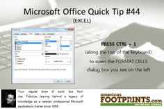 Microsoft Office Tip   What's YOUR legacy?  AmericasFootprints.com