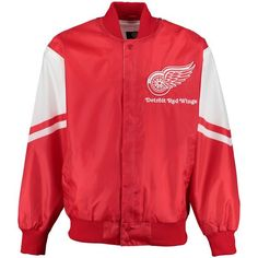 Detroit Red Wings G-III Sports by Carl Banks Real Hype Jacket - Red - $129.99