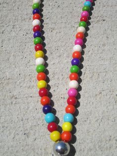 Colorful Teacher Lanyard Lanyard Teacher Id by MiksJewelryShop, $5.00