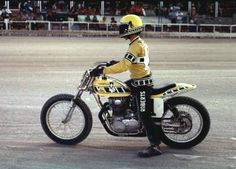 Kenny Roberts and Yamaha Flattracker- one of the bikes I lusted for and a man I admired.
