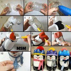2 Liter Bottle Penguins