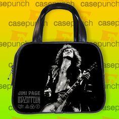 An8-led Zeppelin Classic Jimmy Page Guitar Handbag Purse Woman Bag Classic