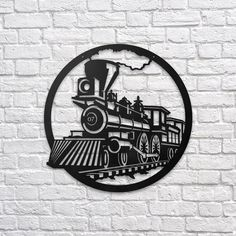 Train #metal #wallart #decoration #decor #homedecor #home #idea #gift #shopping #metalart #wallhanging #walldecor #interior #steel #decorations #interiors #pinterest #raayt #sign #wallsign #diy #homedecorationidea #ideas #product #feather #feathers #geometric #geometry #minimal #minimalist #office #train #steampunk