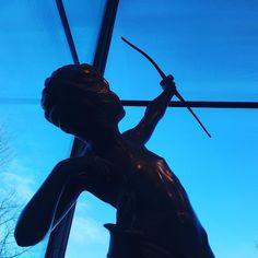 #sculpture #archery