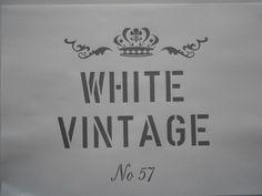 Schablone White Vintage auf A4 FOR SALE • EUR 2,80 • See Photos! Money Back Guarantee. Schablone Stencil auf A4 * White Vintage Größe : H x B ca. 17 x 18 cm Sie erhalten eine wiederverwendbare dünne Klarsicht - Kunststoffschablone ( Bild dient nur zur 172648716793