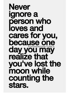 You may realize