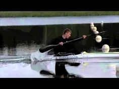 Anders Gustafsson paddling in Slow Motion 2010