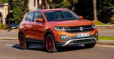 New Small SUV 2019 volkswagen T-cross Luxury Car Brands, Luxury Suv, Crossover Suv, Small Suv, Car Themes, Cars Birthday Parties, Car Hacks, Car Storage, Cute Cars