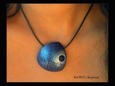 Pendentif-bleu-et-argent-01 NaYeTi - bijoux