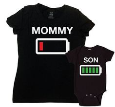Mother And Son Matching Outfits Mommy And Me Clothing Mom And