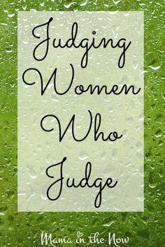 """Judging women who judge"" art"