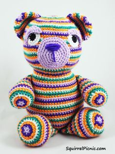 Motley the Beat ~ free pattern ᛡ