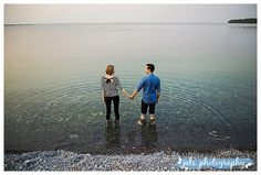 Engagement photographs at Little Bluff Conservation area by jals photography, a Prince Edward County wedding photographer