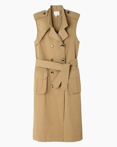 Band of Outsiders / Coated Sleeveless Trench