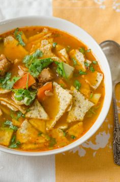 The Turkey Tortilla Soup  You Need Right Now