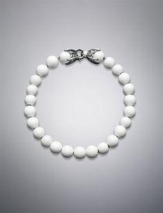 David Yurman | Men | Bracelets: Spiritual Bead Bracelet, White Agate, 8mm