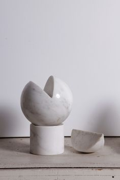 Untitled Marble Sculpture By Hanna Eshel, 1976