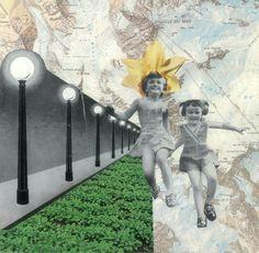 Todos os sonhos: eles existem! Colagem © Jazz Ica Rafaela
