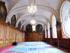 #Réfectoire de l'#Abbaye aux hommes, #Caen #Calvados #Normandie