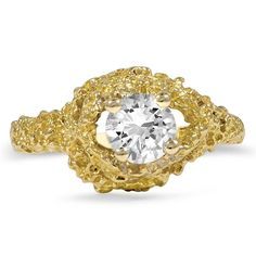 18K Yellow Gold The Mandara Engagement Ring from Brilliant Earth