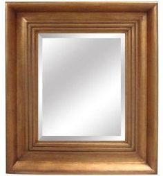 ShopStyle.com: Yosemite Home Decor 27 in. x 31 in. Rectangular Decorative Framed Mirror $95.40