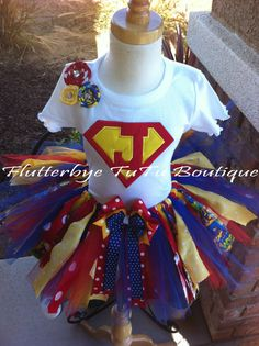 Miss SuperGirl TuTu
